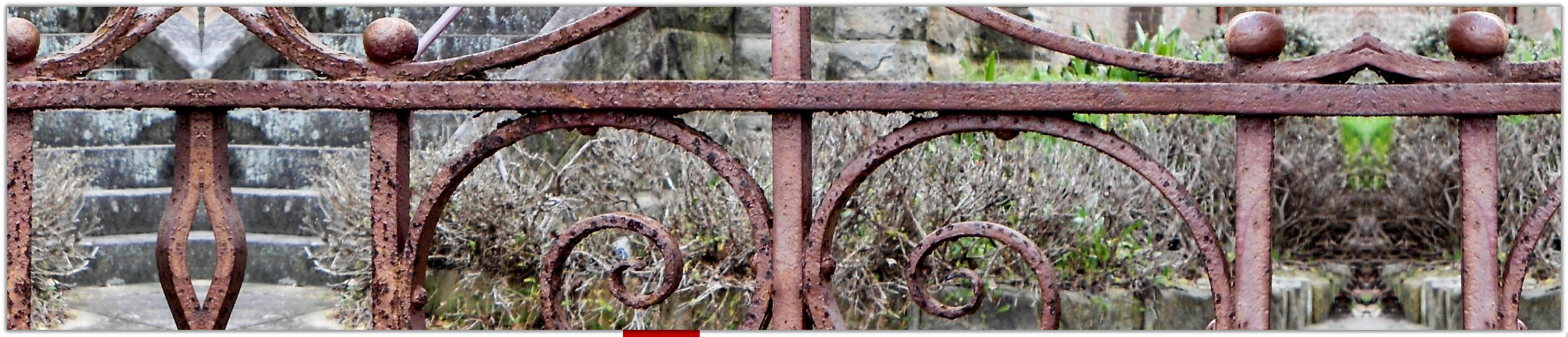 Rusted Wrought Iron